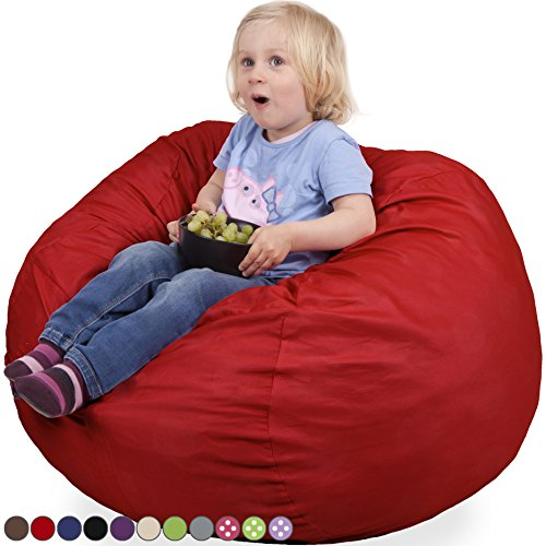 Oversized Kids Bean Chair Flaming product image