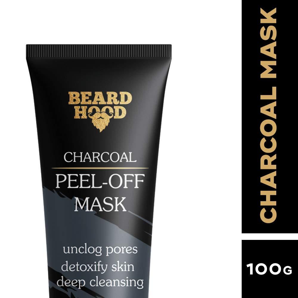 Beardhood Charcoal Peel Off Mask, 100g product image