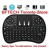 Minidi i8 2018 New I8 2.4Ghz Mini Wireless Keyboard with Touchpad Mouse, Handheld Remote, Pi 2/3, Kodi Android Tv Box, Htpc/Iptv, Windows 7 8 10
