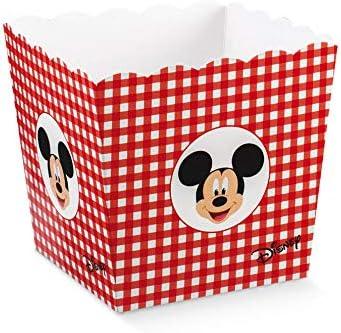 CARTOON WORLD 12 ASTUCCI Cono Porta Confetti Caramelle Piu Scatola Grande Disney Topolino r