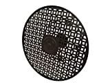 Hampton Bay 16'' Round Wall Mount Steel Hose Reel Hose Butler