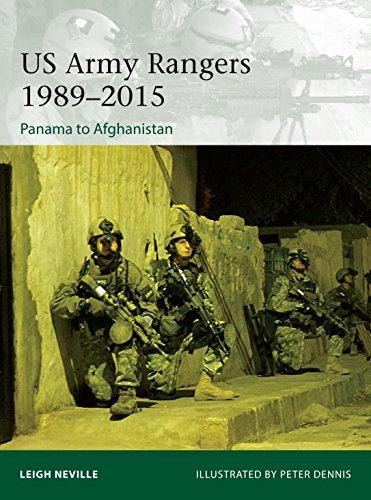 (US Army Rangers 1989–2015: Panama to Afghanistan (Elite Book 212))