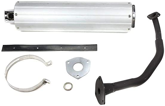 Exhaust System//Muffler for Taotao 50cc Scooter by VMC CHINESE PARTS