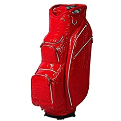 OUUL alligator cart bag features a luxury and stylish multi-layered alligator embroidered micro pu design. These stunning, high-performance golf bags are available in a variety of rich and beautiful colors. Eight pockets designed with luxury ...
