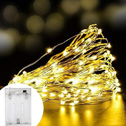 LED-Lichterketten,LED-Lichterketten, feenhafte Lichtvorh?nge, batteriebetrieben, LED-Lichterketten, für die Dekoration von Lichterketten, USB-Lichterketten für Festtage