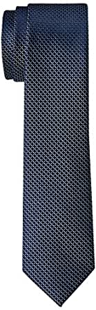 Van Heusen Men's Square Print Tie, Sky Blue