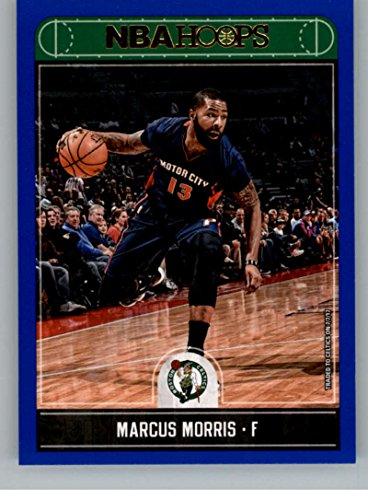2017-18 Panini Hoops Blue #172 Marcus Morris NM-MT Celtics