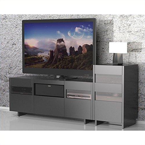 Nexera Vision 1 Tower Entertainment Center in Black ()