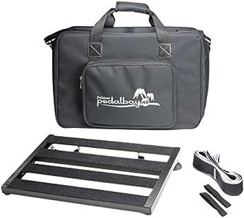Palmer MI PEDALBAY 40 - Pedalera variable con bolsa de transporte acolchada (45 cm)