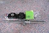 1x Antibacklash RM2005--950 mm Ballscrew & nut+BF15/BK15+10*12 mm Couplering