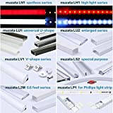 Muzata Led Channel Corner Connector kit L-Shape