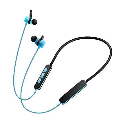 Magiyard Auricular inalámbrico bluetooth auriculares estéreo auriculares deporte (Azul)