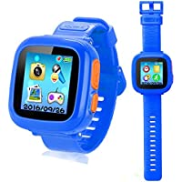 Smart Watch for Kids with Digital Camera Games Touch Screen, Cool Toys Watch Gifts for Girls Boys Children
