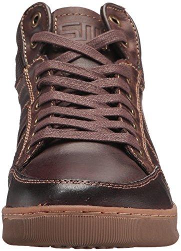 0560e76304f Steve Madden Men's Cartur Fashion Sneaker, Brown Leather, 10 US/US Size  Conversion M US