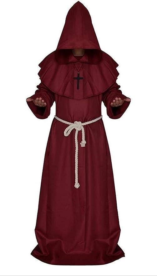HUBINGRONG Ropa de Moda sacerdotales Traje de Halloween ...