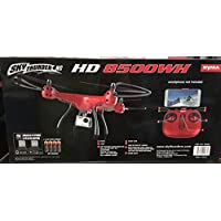 Syma Sky Thunder RC HD 8500WH Drone 4.5 Ch 2.4GHZ WiFi Live Stream HD Video Camera Red