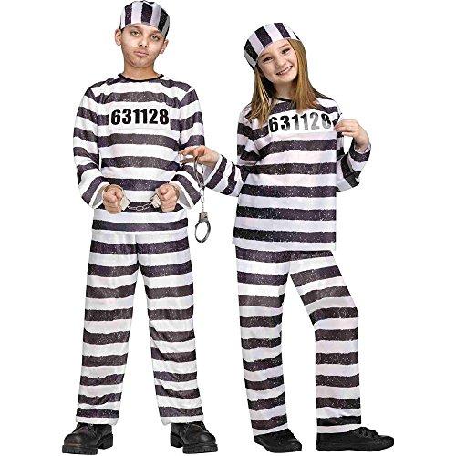 Fun World 1330 FW8748LG Jailbird Costume
