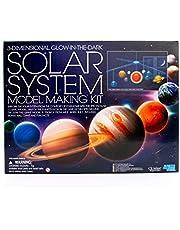 4M 5219 3-Dimensional Glow-in-The-Dark Solar System Mobile Making Kit