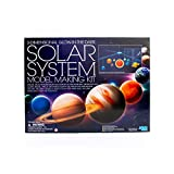 4M 3D Glow-in-the-Dark Solar System Mobile Making