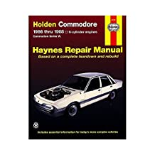 Holden Commodore Australian Automotive Repair Manual: 1986 to 1988