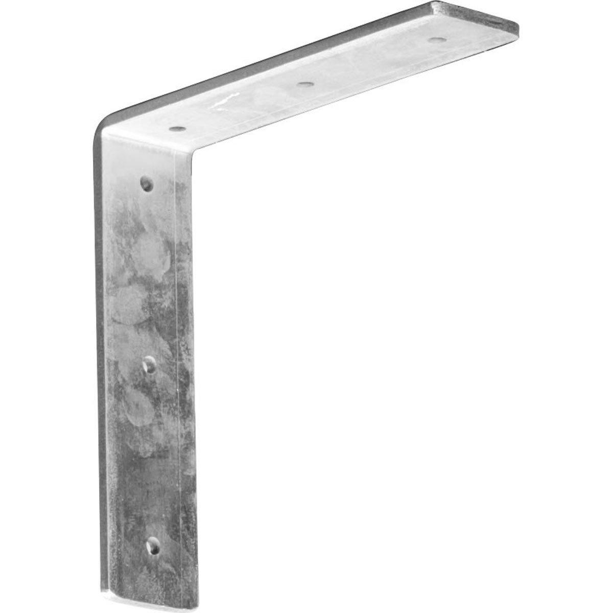 Ekena Millwork BKTM02X08X08HACRS-CASE-4 2 inch W x 8 inch D x 8 inch H Hamilton Bracket, Steel (4-Pack),