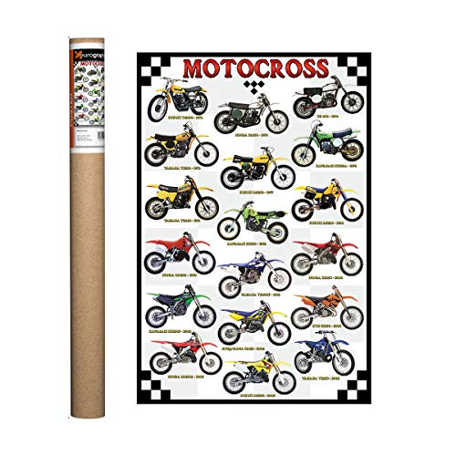 EuroGraphics Motocross Poster, 36 x 24 inch