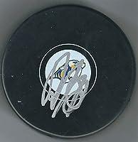 Autographed Roman Josi Nashville Predators Hockey Puck