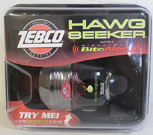 ZEBCO HAWG SEEKER SPINCAST REEL WITH ELECTRONIC BITE (High Torque Series)