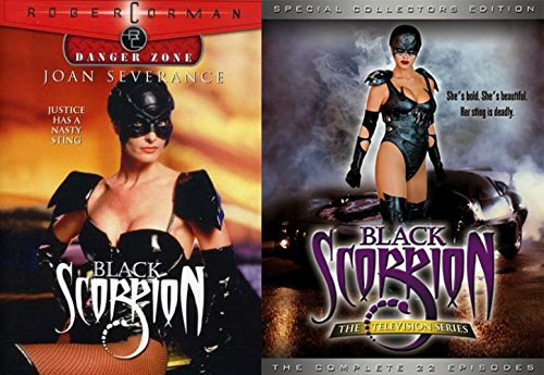 Black Scorpion DVD Set - The TV Series Special Collectors Edition + Black Scorpion Movie by New Horizons