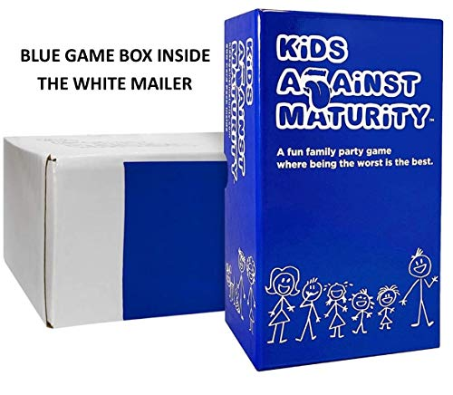 Kids Against Maturity: Card Game for Kids and Families, Super Fun Hilarious for Family Party Game Night
