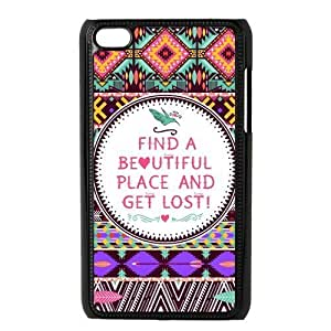 Aztec Tribal Patterned Durable Hard Shell Diy For Touch 5 Case Cover