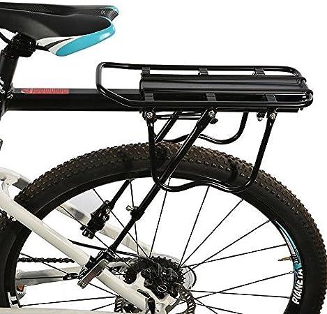 ROCKBROS Portaequipajes Trasero para Bicicleta Carga Máx 50KG con ...