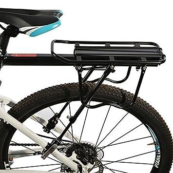 RockBros Bicicleta Portaequipaje con cierre rápido Sillín ...