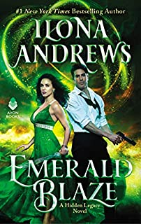 Book Cover: Emerald Blaze: A Hidden Legacy Novel