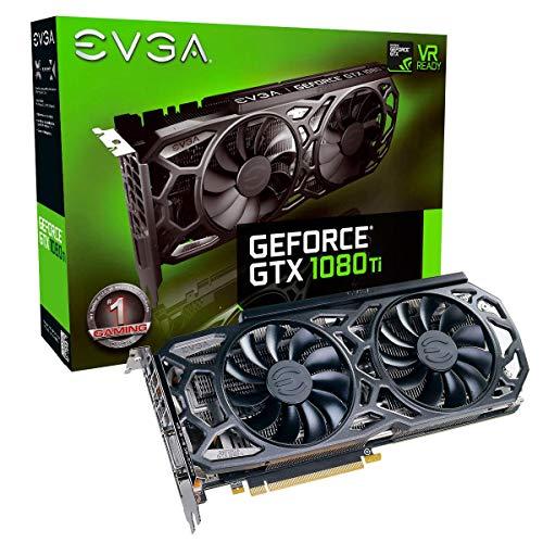 EVGA HL-007304 NVIDIA GeForce GTX 1080 Ti Black Edition 11GB iCX Cooler and LED Graphics Card (Renewed) ()