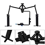 ASHANKS Camera Video Spider Handheld Stabilizer Rig Mechanical Stabilization for Camcorder DV Video Camera DSLR Sony Canon Nikon
