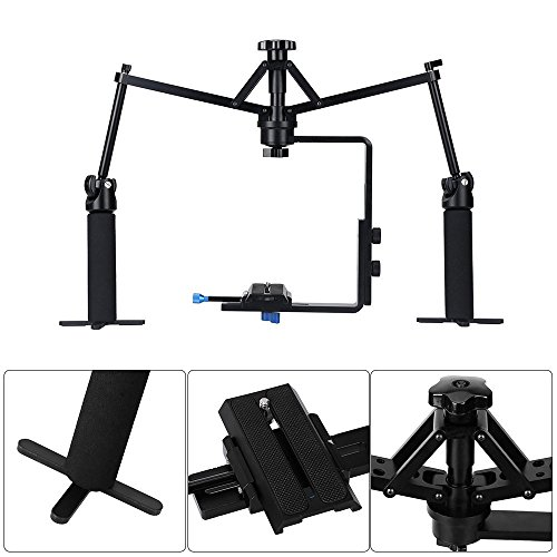 ASHANKS Camera Video Spider Handheld Stabilizer Rig Mechanical Stabilization for Camcorder DV Video Camera DSLR Sony Canon Nikon by ASHANKS