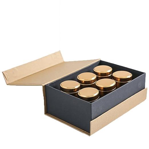 Cafetera Tea Caddy, 6 piezas Set de caja de regalo Tea Sugar ...