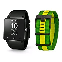 Sony Sw2 Smartwatch 2 NFC Bluetooth Water Resistant Android Watch Fifa Edition