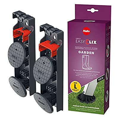 """Hailo 9948-001 Easy Clix Foot Change System for Outdoor Use, Size """"L"""""""