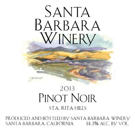 Santa Barbara Pinot Noir - 6