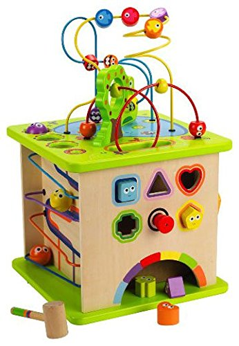 Hape – Country Critters Wooden Activity Play Cube