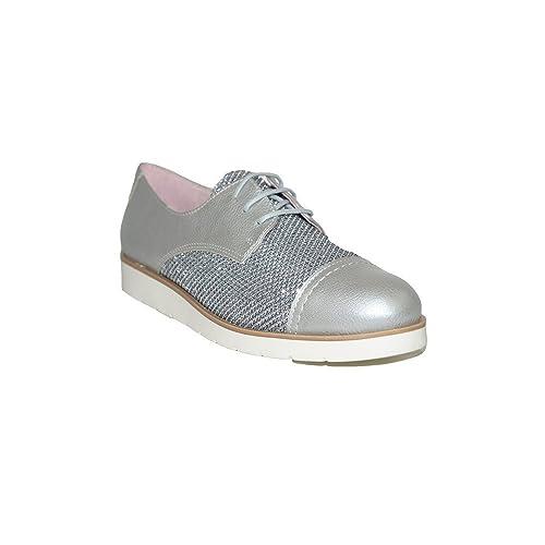 PRIMAR SHOES - Zapatilla Purpurina Alma PS134 Zapatillas Elegantes Casuales Urbanas Verano Moda 2018 Mujer Piel Transpirable Plata: Amazon.es: Zapatos y ...