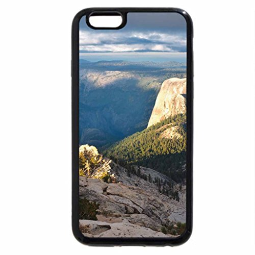 iPhone 6S / iPhone 6 Case (Black) half dome from above