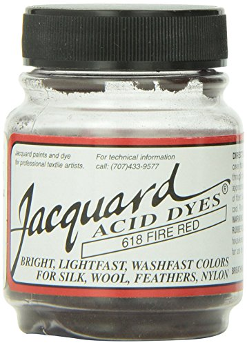 Jacquard Acid Dyes 1/2 Ounce-Fire ()