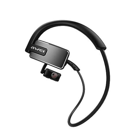 Sencillo Vida Auriculares Bluetooth inalámbricos Impermeable, Auriculare Deportivos de Cancelación de Ruido