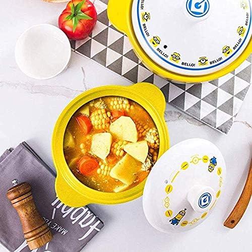 AZHom Ménage cuisinière à gaz domestique de riz à haute température d'argile pot ragoût de casserole résistant approprié for pot en céramique à soupe de santé