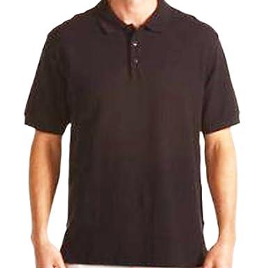 Image Unavailable. Image not available for. Color  LA POP ART Men s Cotton  Short Sleeve Polo Shirt Black 2XL 2e379e50451