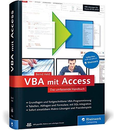 Galileo Computing  VBA Mit Access  Das Umfassende Handbuch