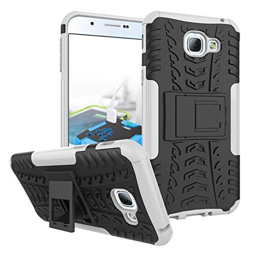Slim Shockproof Case for Samsung A8 (White) - 7